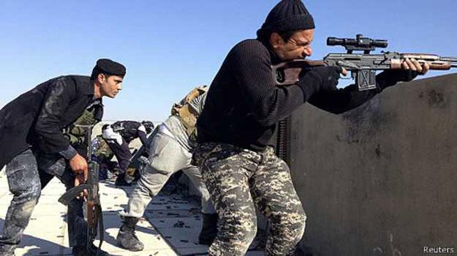Iraq và Syria chung nỗi lo thảm sát khi sắp thất thủ - Ảnh 1