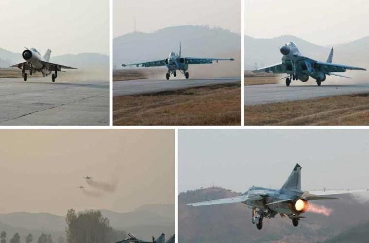 Nhà lãnh đạo Kim Jong-un trực tiếp vào buồng lái máy bay MiG-29   - Ảnh 5