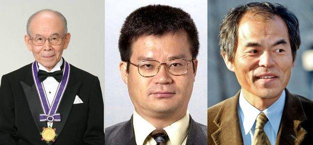 3 nhà khoa học phát minh đèn LED đoạt giải Nobel Vật lý 2014 - Ảnh 1