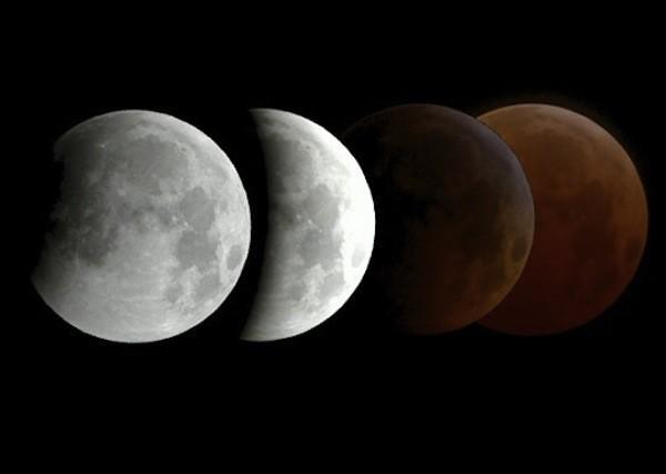 Nguyệt thực Selenelion và Mặt trăng máu được quan sát cùng lúc - Ảnh 1