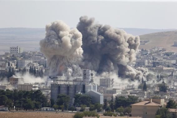 IS phản công chiếm Kobani bất chấp Mỹ tăng cường không kích - Ảnh 2