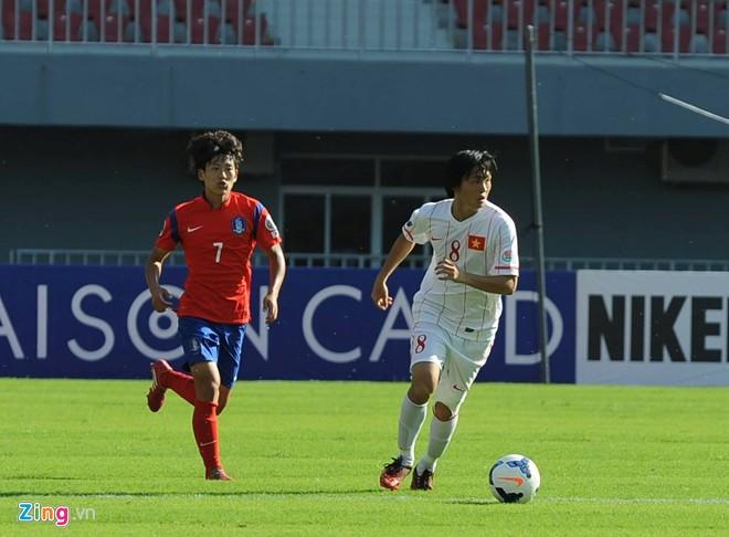 Chơi dưới sức, U19 Việt Nam thảm bại 0-6 trước Hàn Quốc - Ảnh 1