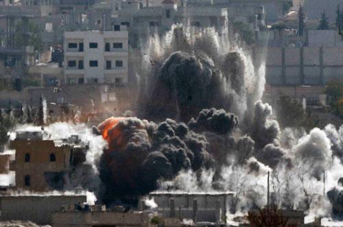Người Kurd từ Iraq đã đến tiếp viện Kobani dưới sự yểm trợ của Mỹ - Ảnh 2