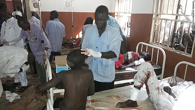 Đánh bom tự sát thảm khốc ở Nigeria, 78 học sinh thiệt mạng - Ảnh 1