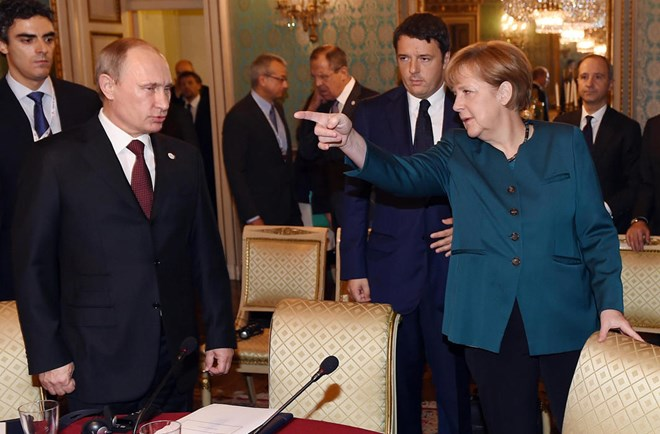 Báo Đức: Tổng thống Putin họp kín cùng bà Merkel 6 giờ liên tục - Ảnh 1