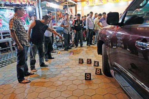 Đại gia Campuchia bị tay súng lạ mặt bắn chết cạnh xe Lexus - Ảnh 1