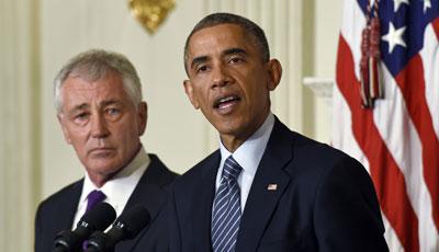 """Bộ trưởng Quốc phòng Mỹ bị """"sa thải"""" hay thất vọng với ông Obama? - Ảnh 2"""