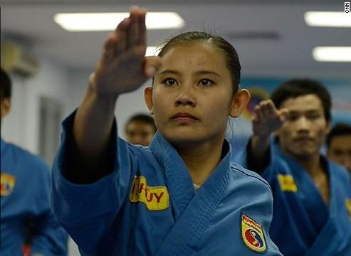 Báo Mỹ viết về môn võ đặc sắc của Việt Nam - Ảnh 1