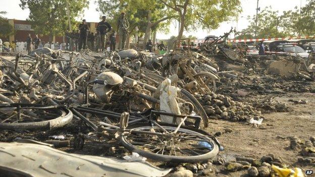 Đánh bom đẫm máu ở Nigeria, ít nhất 120 người thiệt mạng   - Ảnh 1