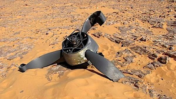 Ai Cập: Rơi máy bay trong cuộc tập trận, 4 người thiệt mạng - Ảnh 1