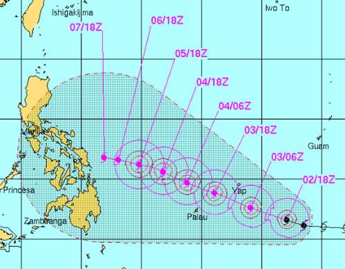 Siêu bão Hagupit sắp đổ bộ vào miền trung Philippines - Ảnh 1