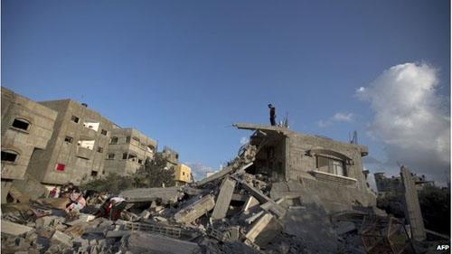 Israel chấp thuận giải pháp ngừng bắn ở Dải Gaza - Ảnh 1