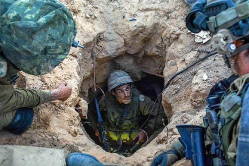 """Những đường hầm ở Dải Gaza khiến Israel """"khiếp sợ"""" - Ảnh 1"""
