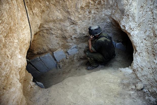 """Những đường hầm ở Dải Gaza khiến Israel """"khiếp sợ"""" - Ảnh 3"""