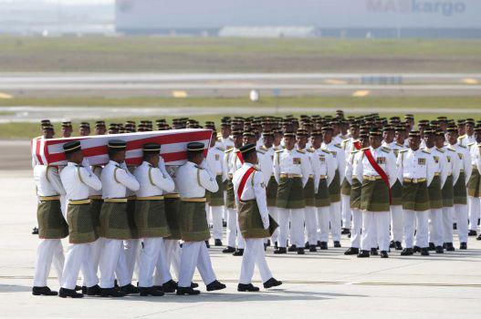 Malaysia tổ chức quốc tang các nạn nhân MH17   - Ảnh 2