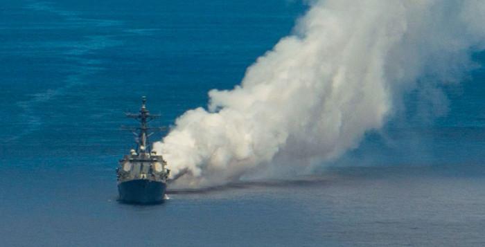 """Hải quân Mỹ thử nghiệm """"sương mù"""" Pandarra chống tên lửa TQ - Ảnh 2"""