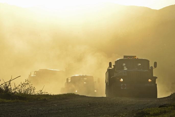 Nga phô diễn khí tài quân sự trong cuộc tập trận Vostok 2014   - Ảnh 9