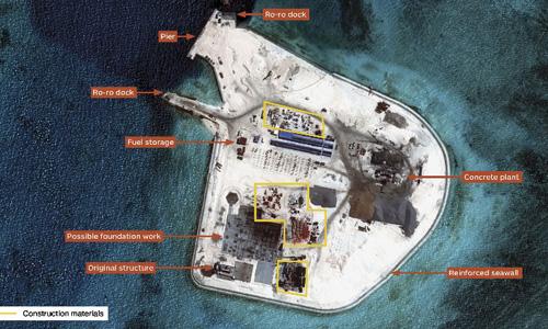 Trung Quốc mở rộng Gạc Ma, làm bàn đạp tấn công khu vực - Ảnh 1