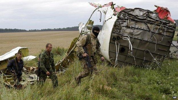 """Kết luận MH17: Máy bay Malaysia rơi do trúng """"các vật thể lạ"""" - Ảnh 1"""