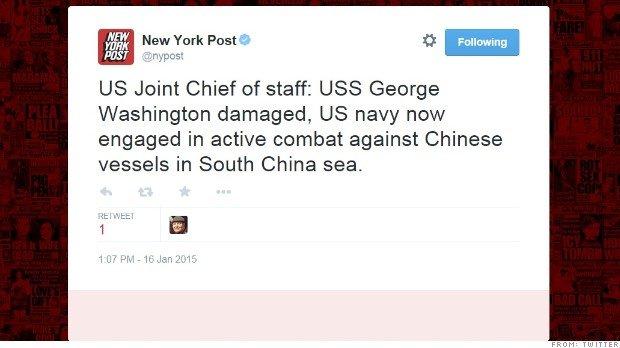Hacker tung tin chiến tranh giữa Mỹ và Trung Quốc trên Biển Đông - Ảnh 1