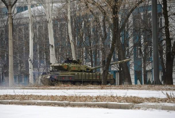 Quân Ukraine thất thủ sân bay Donetsk, 37 binh lính thiệt mạng - Ảnh 1