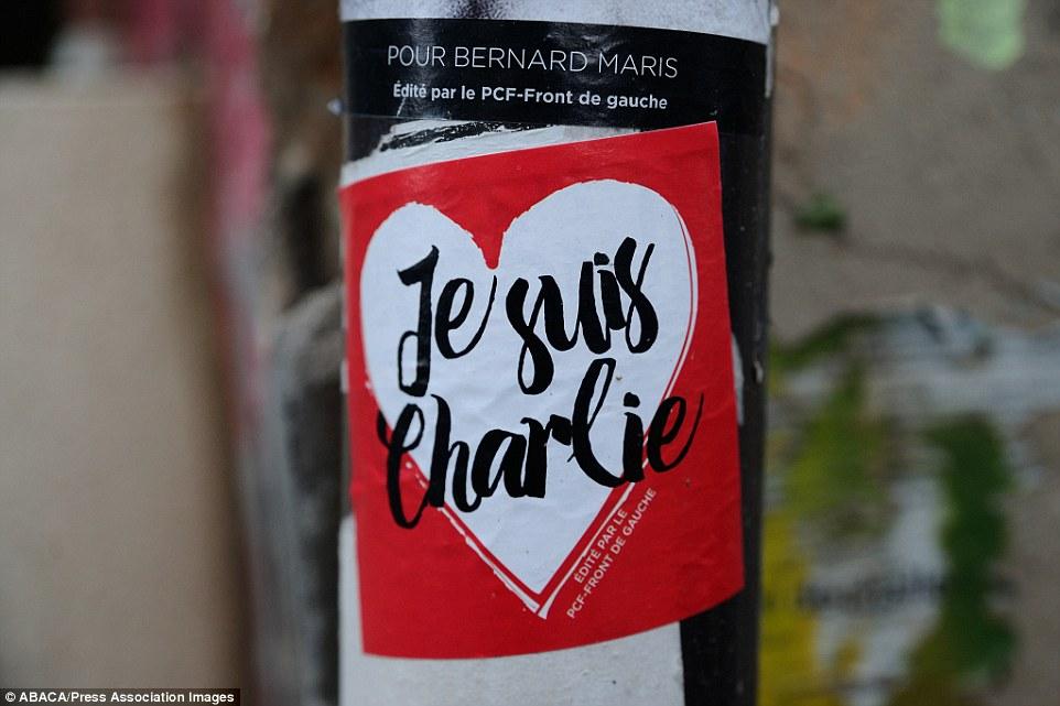 Khắp Paris tràn ngập tranh vẽ tưởng nhớ nạn nhân vụ Charlie Hebdo - Ảnh 8