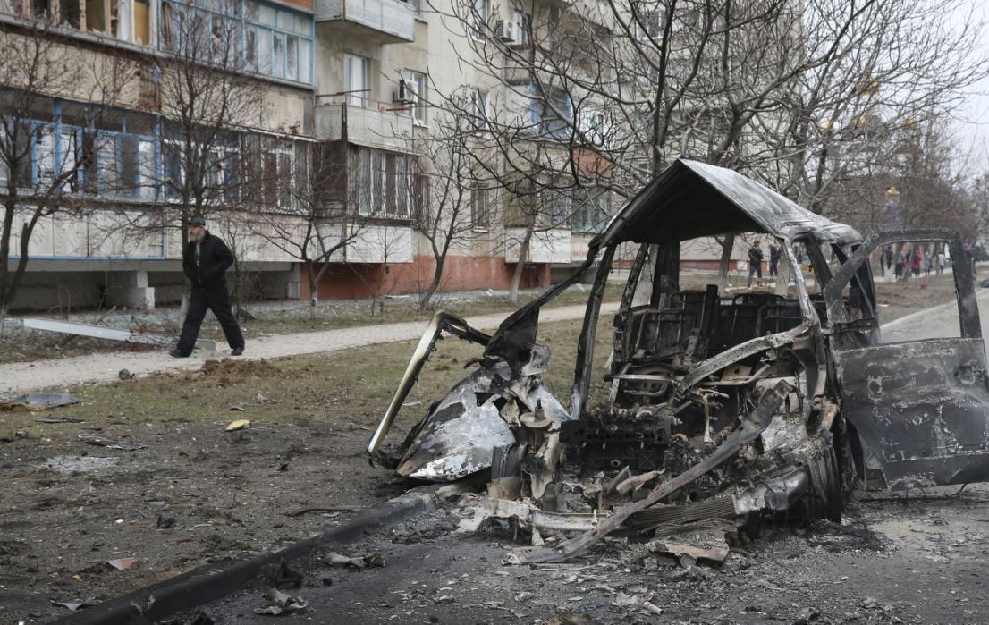 Pháo kích dữ dội ở Crimea, 15 người thiệt mạng - Ảnh 2