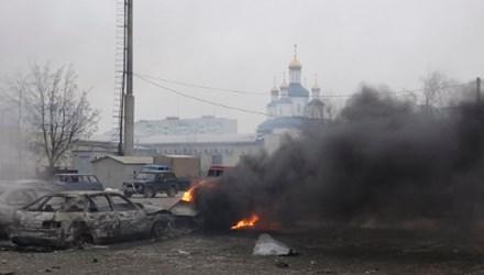 Pháo kích dữ dội ở Crimea, 15 người thiệt mạng - Ảnh 1