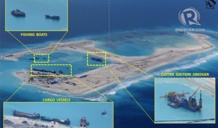 Ảnh mới về hoạt động cải tạo của Trung Quốc tại bãi Chữ Thập - Ảnh 1
