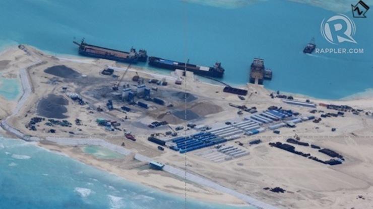 Ảnh mới về hoạt động cải tạo của Trung Quốc tại bãi Chữ Thập - Ảnh 2