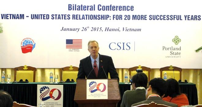 Quan hệ Việt - Mỹ hướng tới 20 năm thành công hơn nữa - Ảnh 1