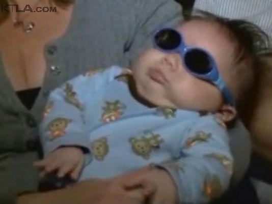 Bé trai mới sinh mắc bệnh lạ không có nhãn cầu - Ảnh 1