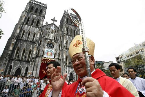 Tổng giám mục Hà Nội được Giáo hoàng Francis chọn làm hồng y - Ảnh 1