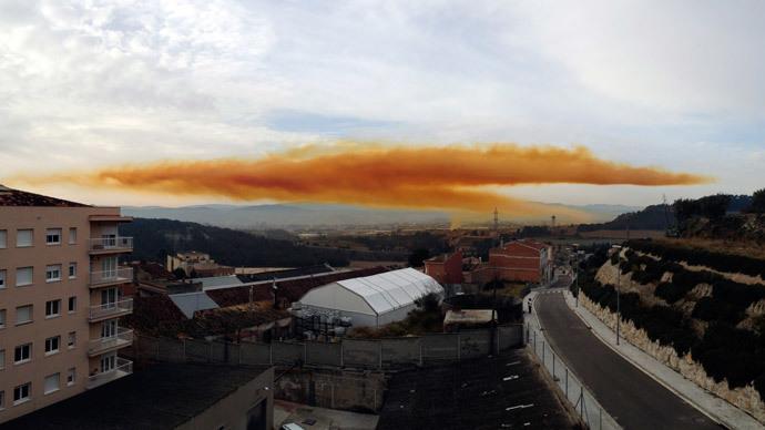 Cảnh tượng kinh hoàng sau vụ nổ nhà máy hóa chất - Ảnh 1