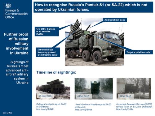 Anh công bố bằng chứng tên lửa Nga ở miền đông Ukraine - Ảnh 1