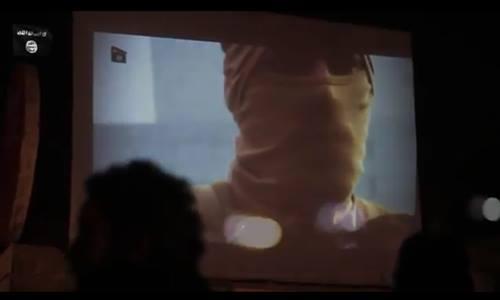 IS chiếu cảnh thiêu sống phi công Jordan cho trẻ em - Ảnh 1