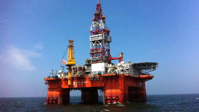 Giàn khoan Hải Dương 981 khoan dầu ở Myanmar - Ảnh 1