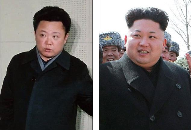 Lộ ảnh hiếm giống nhau như tạc của cha con nhà lãnh đạo Triều Tiên - Ảnh 1