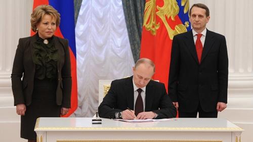 Chiến dịch bí mật sáp nhập Crimea vào lãnh thổ Nga - Ảnh 1