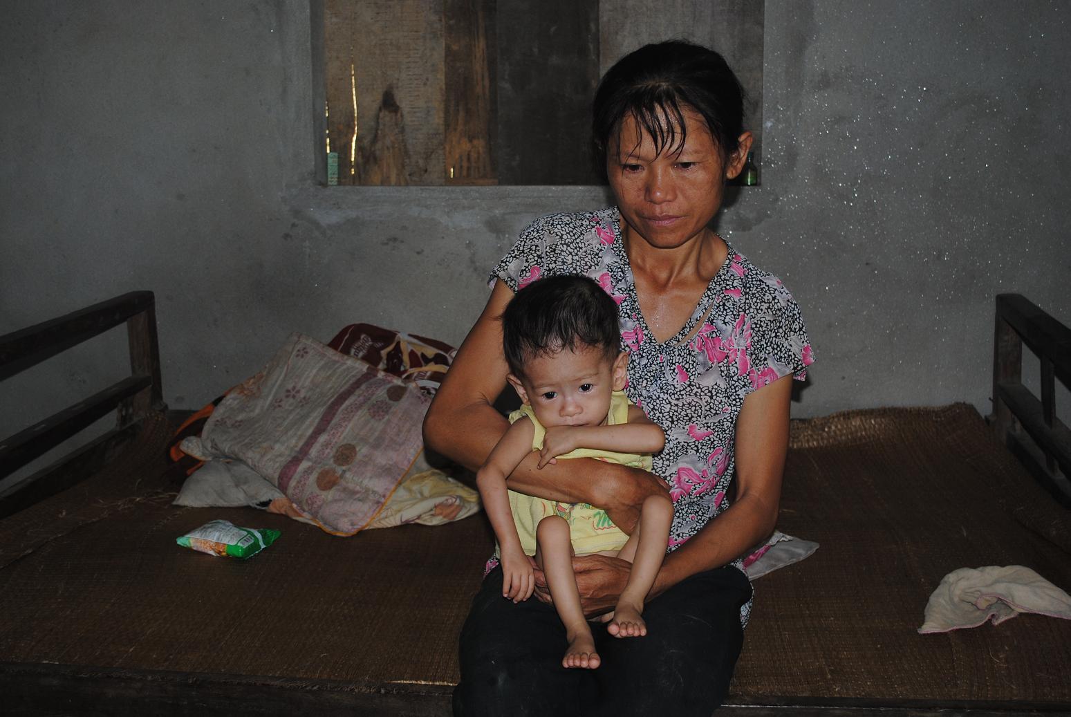 Gia cảnh khốn khó của cháu bé một tuổi bị bệnh tim bẩm sinh - Ảnh 3