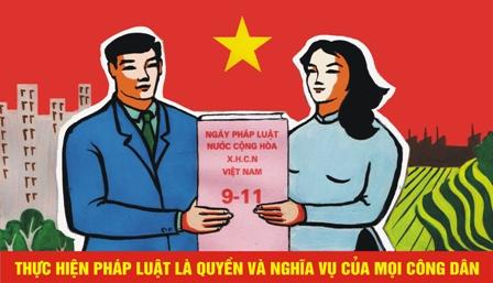 Ngày Pháp luật Việt Nam là ngày nào? - Ảnh 1