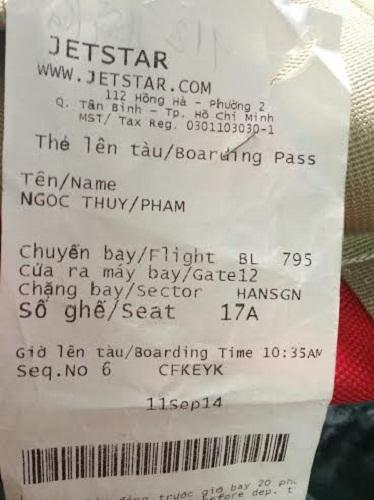 Jetstar Pacific bị tố ghi khống số cân của khách - Ảnh 1