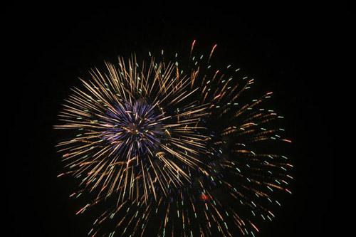 Bắn pháo hoa 10/10: Pháo hoa ngập trời, Hà Nội lung linh - Ảnh 25