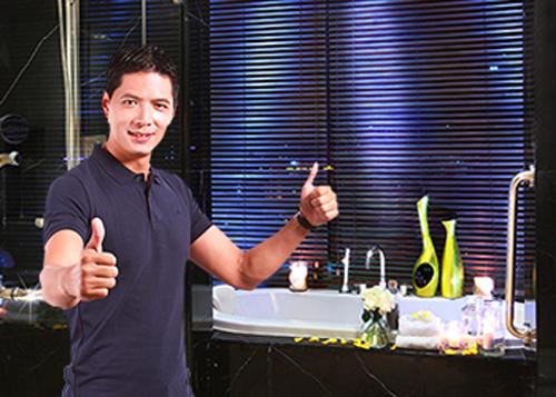 """20/10: Phan Anh vào bếp, Bình Minh xây nhà tắm """"5 sao"""" tặng vợ - Ảnh 5"""