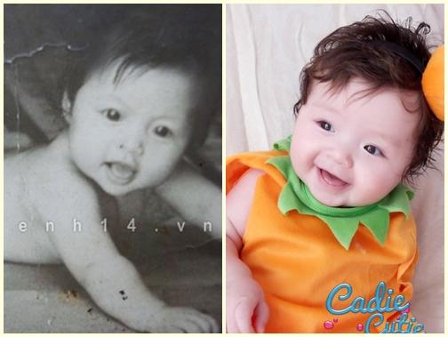 Con gái lai Tây của Elly Trần giống hệt mẹ lúc nhỏ - Ảnh 1