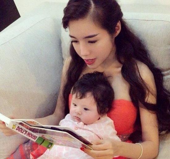 Con gái lai Tây của Elly Trần giống hệt mẹ lúc nhỏ - Ảnh 4