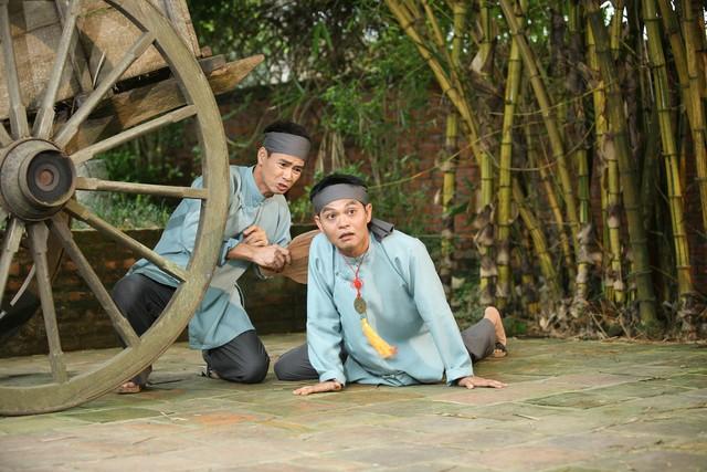 Hậu trường hài hước của Xuân Bắc, Tự Long trong phim hài Tết 2015 - Ảnh 5