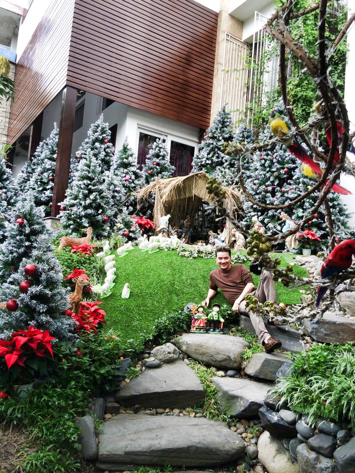 Noel 2014 lung linh, huyền ảo trong căn nhà triệu đô của Đàm Vĩnh Hưng - Ảnh 4