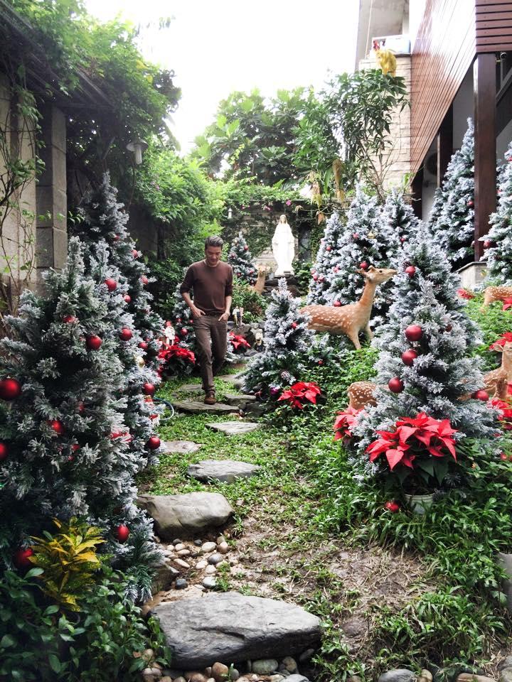 Noel 2014 lung linh, huyền ảo trong căn nhà triệu đô của Đàm Vĩnh Hưng - Ảnh 3