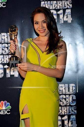 4 mỹ nhân Việt được vinh danh giải thưởng quốc tế cuối năm 2014 - Ảnh 8